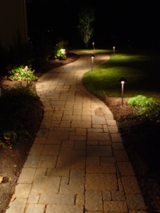 Path Landscape Lighting by GA Landscape Design