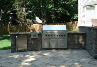 Outdoor Kitchen Design by GA Landscape Design