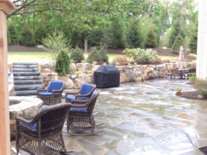 Basking Ridge NJ Bluestone Patio