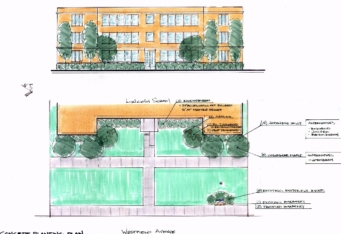 Lincoln School Landscape Design Plan in Westfield NJ