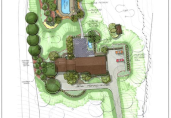 NJ Landscape Architect created Landscape Master Plan